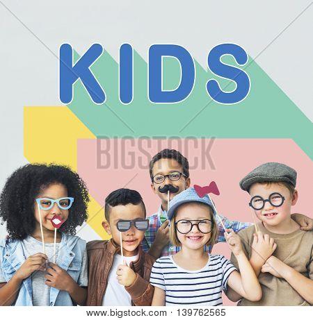 Kids Children Childhood Youth Concept