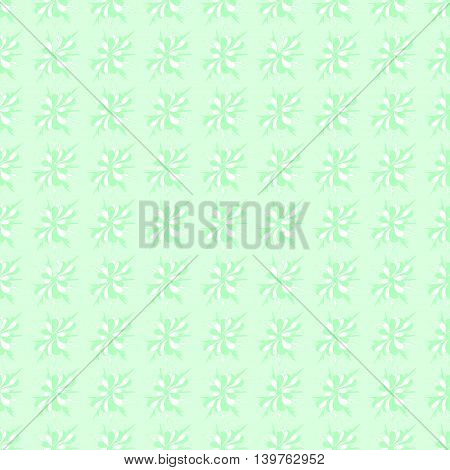 gentle green seamless background for website vector illustration