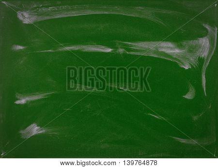 Green chalkboard. Texture background. Green chalkboard. Texture background.