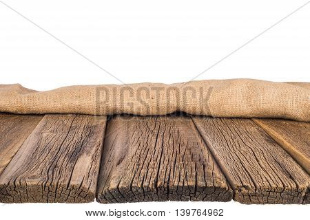 Empty wooden table Texture of wood background closeup
