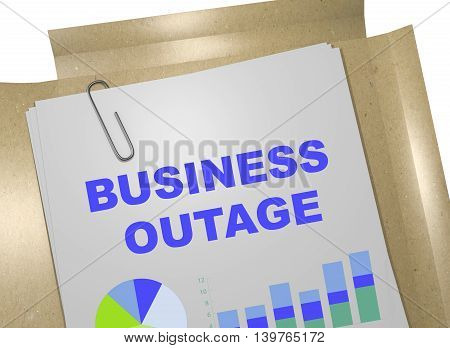 Business Outage Concept