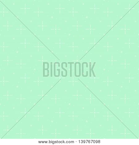 Green seamless background for website vector illustration
