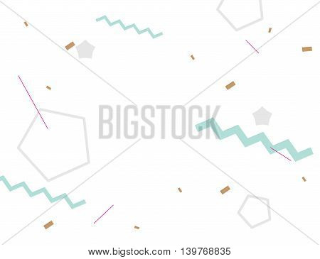 Abstract geometric background. Hipster trendy style. Modern cover. Usable for greeting cards, invitation, poster design.