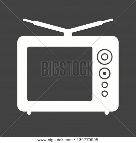 Panel, tv, results icon vector image. Can also be used for elections. Suitable for use on web apps, mobile apps and print media.