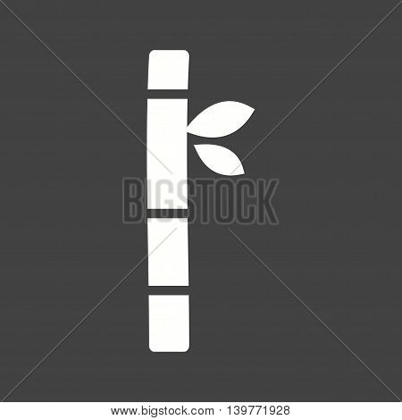 Bamboo, green, tropical icon vector image.Can also be used for spa. Suitable for mobile apps, web apps and print media.