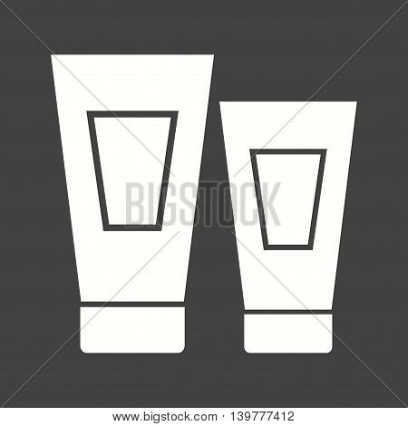 Tube, cosmetic, cream icon vector image. Can also be used for spa. Suitable for use on web apps, mobile apps and print media.