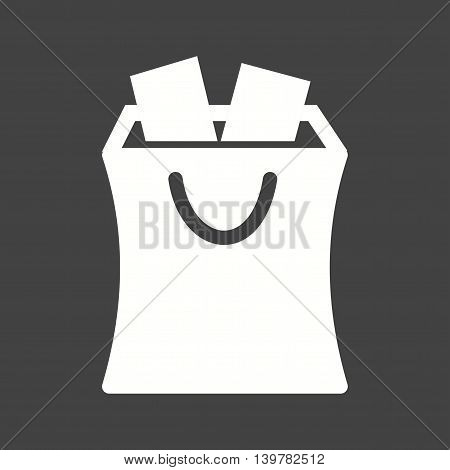 Shopping, cart, sale icon vector image. Can also be used for finances trade. Suitable for web apps, mobile apps and print media.