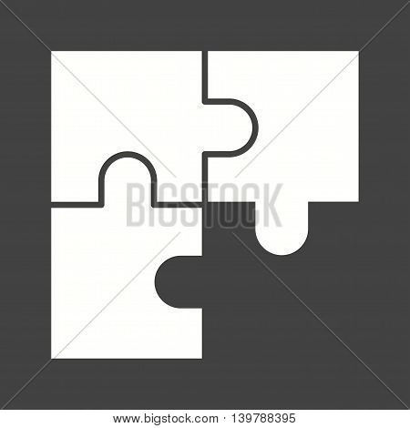 Puzzle, solution, solve icon vector image. Can also be used for employment. Suitable for mobile apps, web apps and print media.