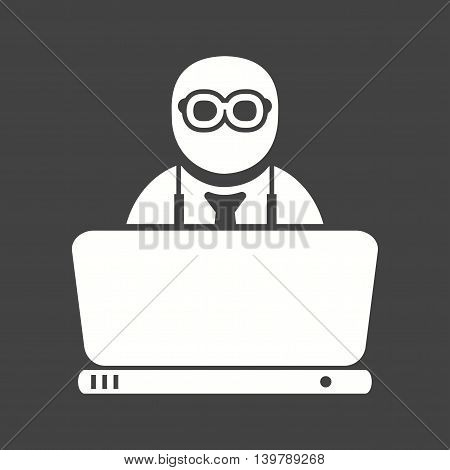 Working, job, company icon vector image. Can also be used for employment. Suitable for use on web apps, mobile apps and print media.