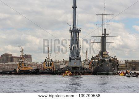 St. Petersburg, Russia - 16 July,