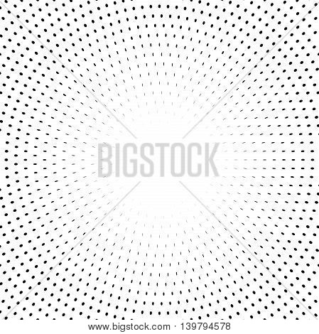 Geometric modern vector pattern. Fine ornament with black elements
