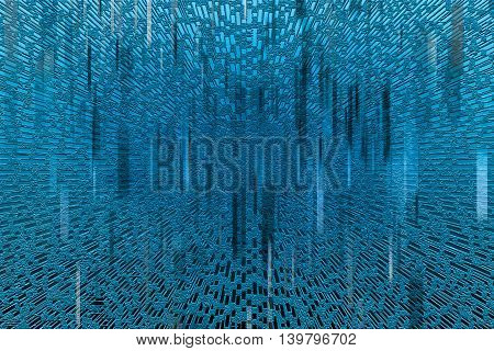 Futuristic abstract background wallpaper. Dark and light blue