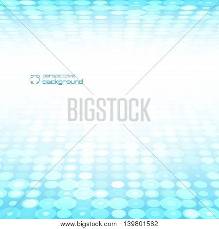 Abstract perspective background. Vector illustration. Used to design postcards advertising.