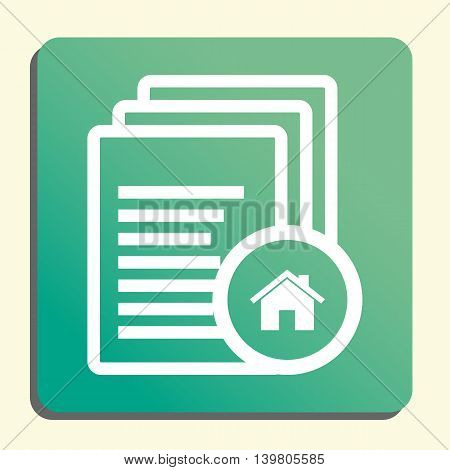 Files Home Icon In Vector Format. Premium Quality Files Home Symbol. Web Graphic Files Home Sign On