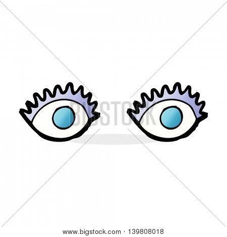 cartoon eyes