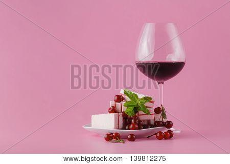 Cherry And Wine