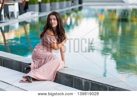 Woman In The Summer City