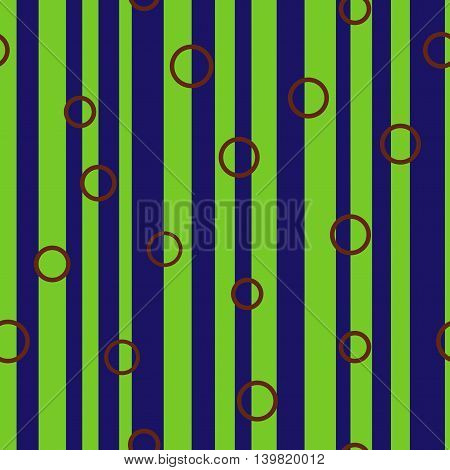 Line and circle chaotic seamless pattern. Fashion graphic background design. Modern stylish abstract colorful texture. Template for prints textiles wrapping wallpaper website VECTOR illustration