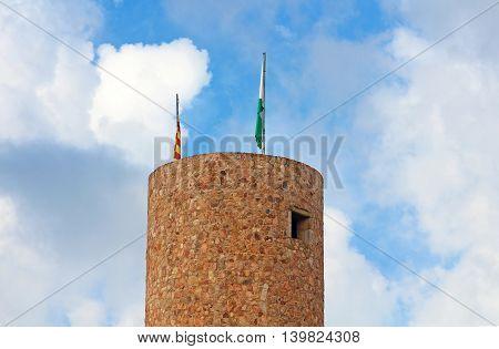 Saint John (Castillo de Sant Joan) in Lloret de Mar, Spain