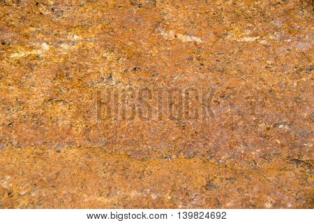 Orange Rock For Nature Abstract Texture Background