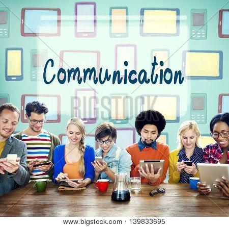 Communication Connection Socialize Media Chat Concept