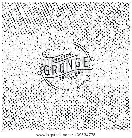 Halftone grunge texture. Vector illustration. Ready for print web and other design