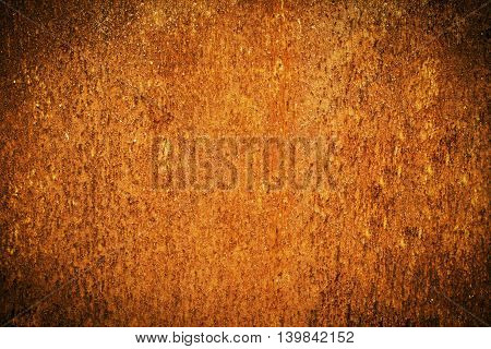 Grunge Metal Rust And Orange Texture For Halloween Background With Space