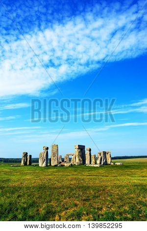 Stonehenge Of Wiltshire Of Great Britain