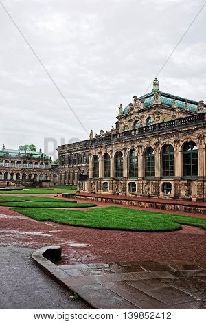 Zwinger Palace In Dresden Germany