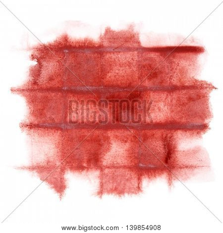 Dark red abstract watercolor background