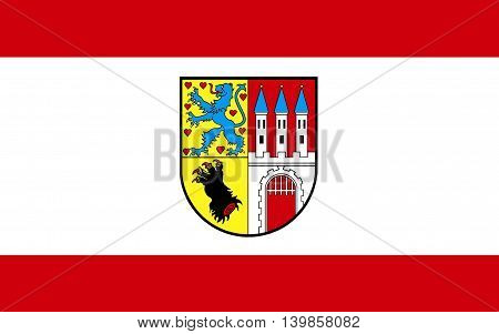 Flag of Nienburg is a town and capital of the district Nienburg in Lower Saxony Germany