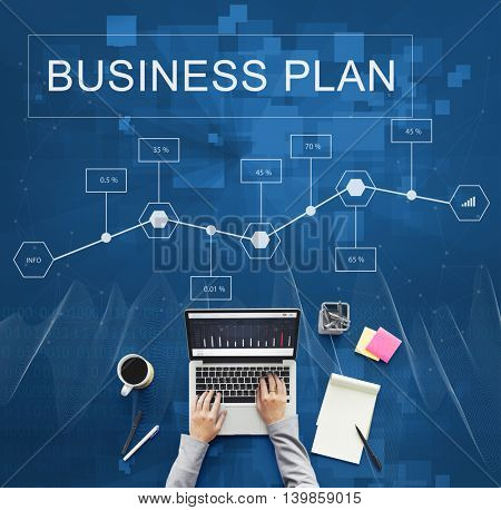 Business Plan Strategy Conceptualize Analytics Concept