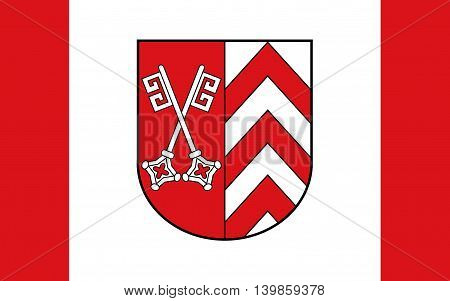 Flag of Minden-Lubbecke is a district in the northeastern part of North Rhine-Westphalia Germany