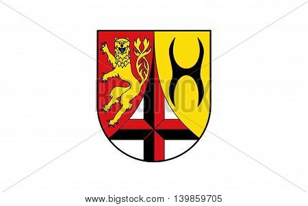 Flag of Altenkirchen is a district in Rhineland-Palatinate Germany