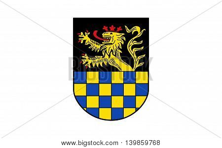 Flag of Bad Kreuznach is a district in Rhineland-Palatinate Germany