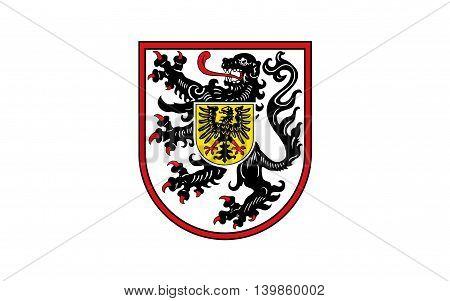 Flag of Landau in der Pfalz is an autonomous town of southern Rhineland-Palatinate Germany