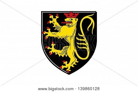 Flag of Neustadt an der Haardt is a town located in Rhineland-Palatinate Germany