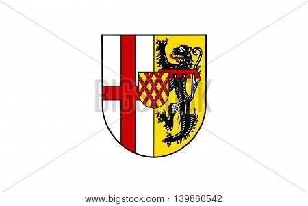 Flag of Vulkaneifel is a district in the northwest of the state Rhineland-Palatinate Germany
