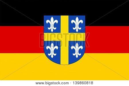 Flag of Sankt Wendel is a town in northeastern Saarland Germany