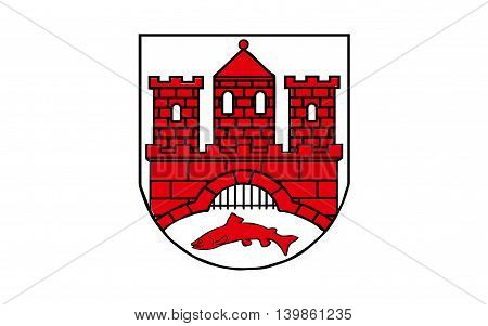 Flag of Wernigerode is a town in the district of Harz Saxony-Anhalt Germany