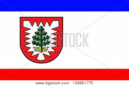 Flag of Pinneberg is a district in Schleswig-Holstein Germany