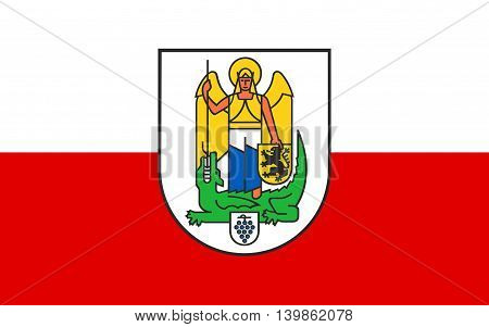 Flag of Jena is a university town and largest city in Thuringia Germany