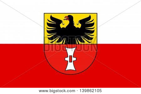 Flag of Mulhausen is a city in Thuringia Germany