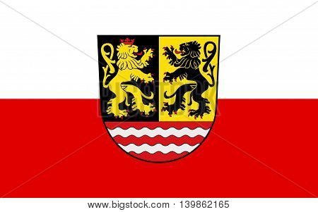Flag of Saale-Orla is a Kreis (district) in the east of Thuringia Germany