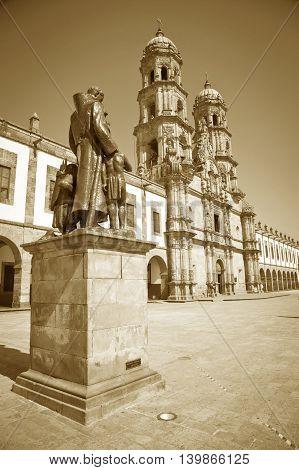 Monuments of Guadalajara Jalisco Mexico, Basilica de Zapopan