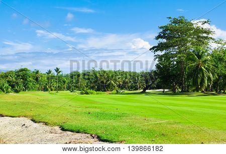 Area Green Fairway