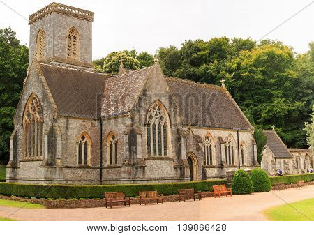 Village Church in a scenic countryside location