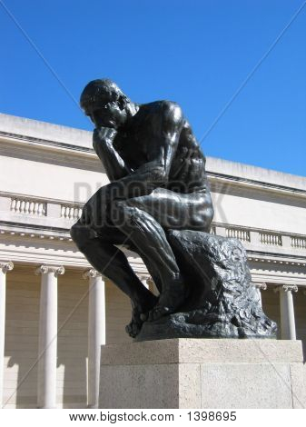 The Thinker From Rodin