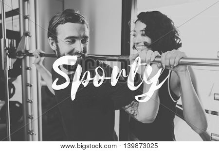 Sports Training Sporty Workout Exercise Concept