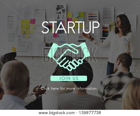 Entrepreneur Start up New Business Entrepreneurship Concept